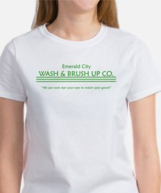emerald city wash and brush u Women's T-Shirt
