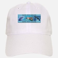 Save Our Oceans Baseball Baseball Cap