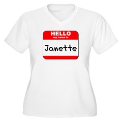 Hello my name is Janette T-Shirt