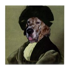 English Setter RAPHAEL Tile Coaster