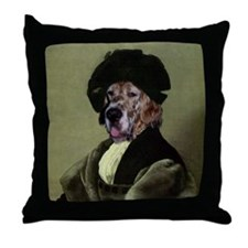 English Setter RAPHAEL Throw Pillow