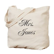 Mrs. Jones Tote Bag