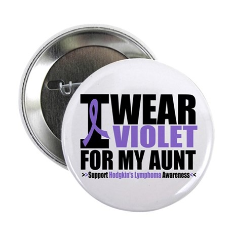 "I Wear Violet (Aunt) 2.25"" Button (10 pack)"