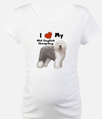 I Love My English Sheepdog Shirt