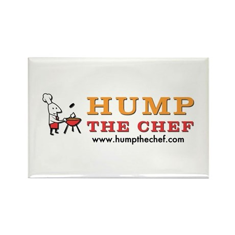 Hump The Chef Rectangle Magnet (10 pack)
