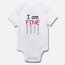 I am FINE, Infant Bodysuit