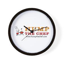 Hump The Chef Wall Clock