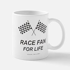 Checker Flag Proud Race Mug (left side)