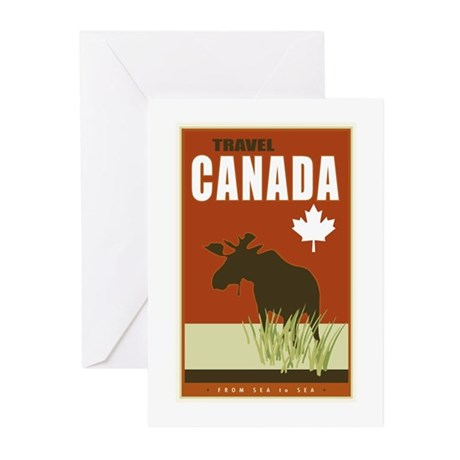 Canada Greeting Cards Pk Of 10 By Kevinbrown