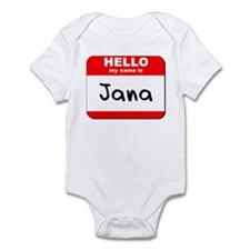 Hello my name is Jana Onesie