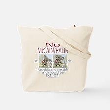 McCain Palin Sick Elephants Tote Bag