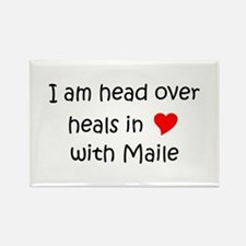 Maile Rectangle Magnet