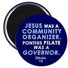 Jesus Community Organizer Magnet