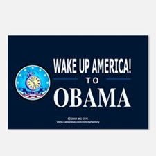 Wake Up to Obama Postcards (Package of 8)
