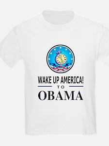 Wake Up to Obama T-Shirt