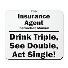 Insurance Agent Mousepad