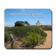 Old Point Loma Lighthouse Mousepad