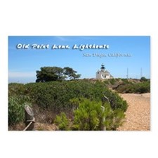 Old Point Loma Lighthouse Postcards (Package of 8)