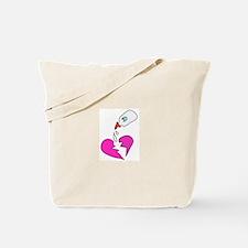 """Mend my broken heart"" Tote Bag"