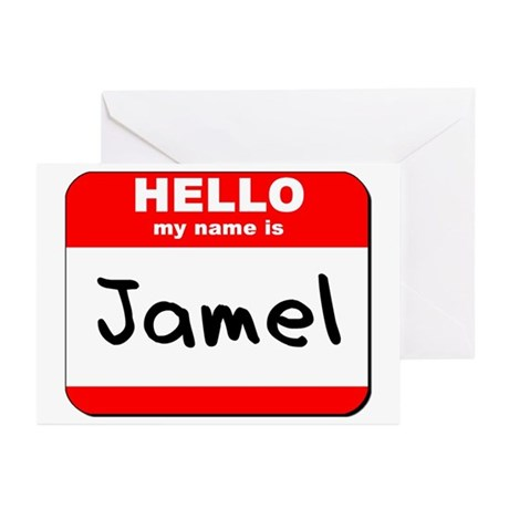 Hello my name is Jamel Greeting Cards (Pk of 20)