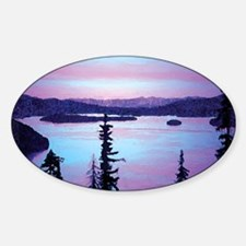 Priest Lake Oval Decal