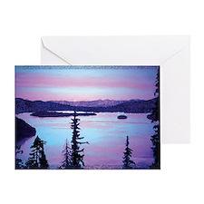 Priest Lake Greeting Card