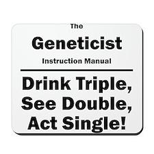 Geneticist Mousepad