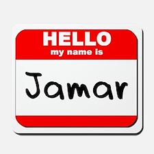 Hello my name is Jamar Mousepad