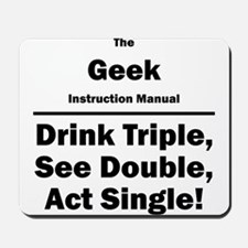 Geek Mousepad
