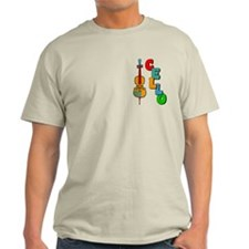 Colorful Cello T-Shirt