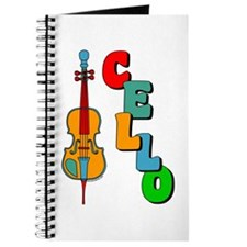 Colorful Cello Journal