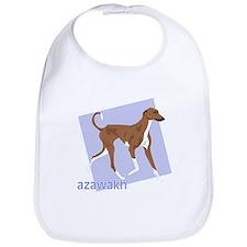 Cute Azawakh hound Bib