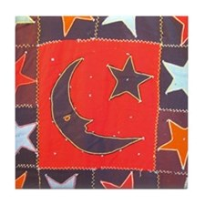 Nellie Mae's 1900 Star Tile Coaster