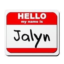 Hello my name is Jalyn Mousepad