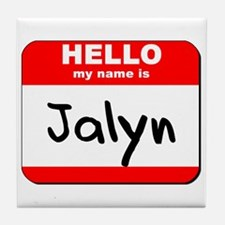 Hello my name is Jalyn Tile Coaster