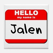 Hello my name is Jalen Tile Coaster