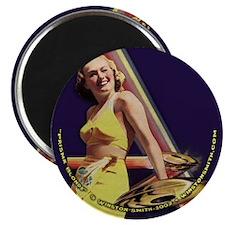 """Prisma Blonde 2.25"""" Magnet (10 pack)"""