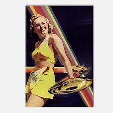 Prisma Blonde Postcards (Package of 8)