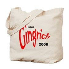 Newt Gingrich Tote Bag-1