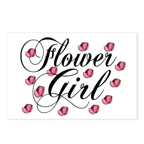 Flower Girl Postcards (Package of 8)