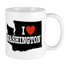 I Love Washington Mug