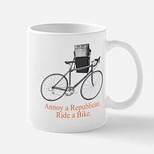 Annoy a Republican. Ride A Bi Mug
