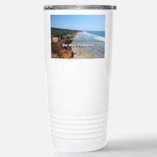 Del Mar City Beach Travel Mug