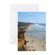 Del Mar City Beach Greeting Cards (Pk of 20)