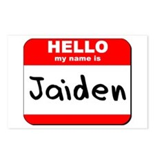 Hello my name is Jaiden Postcards (Package of 8)