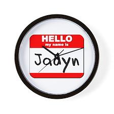 Hello my name is Jadyn Wall Clock