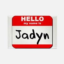 Hello my name is Jadyn Rectangle Magnet