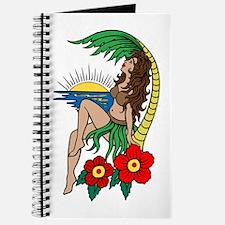 Hawaii Hula Girl Tattoo Journal