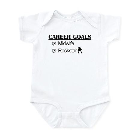 Midwife Career Goals - Rockstar Infant Bodysuit