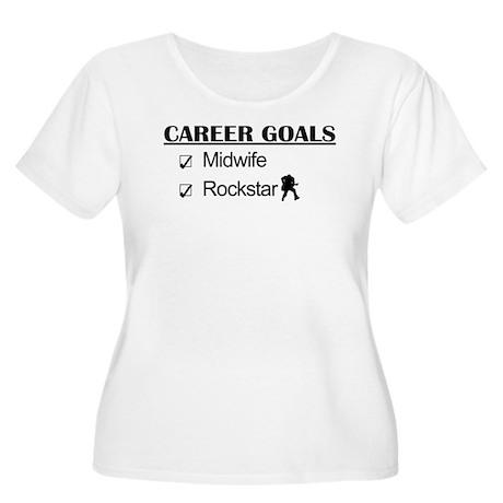 Midwife Career Goals - Rockstar Women's Plus Size